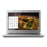 Toshiba 13.3 in. LED Intel Celeron 2955U 1.40GHz 2GB RAM 16GB SSD Sunray Silver Notebook - CB30A3120 - IN STOCK