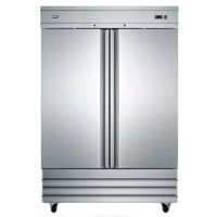 Summit SCRR490 46.6 Cu. Ft. Stainless Commercial Reach-In Refrigerator - SCRR490 - IN STOCK