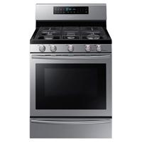 Samsung NX58H5650WS 5.8 Cu. Ft. Stainless 5 Burner Freestanding Gas Range - NX58H5650WS - IN STOCK