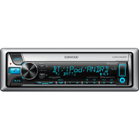 Kenwood Marine CD Receiver with Font USB, AUX-IN, & Bluetooth - KMR-D562BT / KMRD562 - IN STOCK