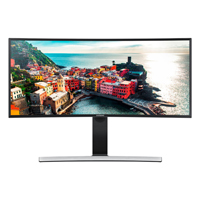 Samsung 34 in. Curved WQHD Cinema Wide LED Monitor - S34E790C - IN STOCK