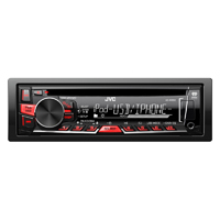 JVC Single Din Car Stereo with Am/fm/cd/mp3/ipod/usb/pandora & Remote - KDR660 - IN STOCK
