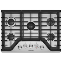 Bosch 500 Series NGM5055UC 30 in. Stainless 4 Burner Gas Cooktop - NGM5055UC - IN STOCK