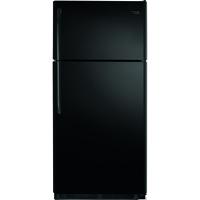 Frigidaire FFTR1821QB 18 Cu. Ft. Black Top Freezer Refrigerator - FFTR1821QB - IN STOCK