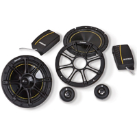 Kicker 6-3/4 in. component speaker system - 11DS652 - IN STOCK