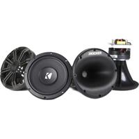 Kicker 6-3/4 in. marine component speaker system - 41KMS674C - IN STOCK