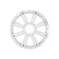 Kicker 10 in. White Marine Subwoofer Replacement Grille for KM Series Subwoofers - 41KMW10GW - IN STOCK