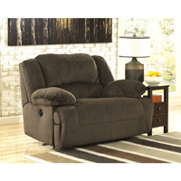 Ashley Signature Design Toletta Chocolate Zero Wall Wide Seat Recliner - 5670152 - IN STOCK