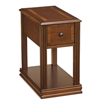 Ashley Signature Design Breegin Cherry End Table - T007527 - IN STOCK