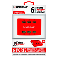 Xtreme 5 amp Power Charger(Red) - 81263 - IN STOCK