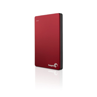 Seagate Backup Plus Slim 2TB Portable External Hard Drive(Red) - STDR2000103 - IN STOCK