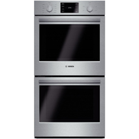 Bosch 500 Series HBN5651UC 27 in. Stainless Convection Double Wall Oven  - HBN5651UC - IN STOCK