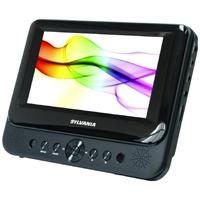 Sylvania 7-Inch Dual Screen Portable DVD Player - SDVD8737 - IN STOCK