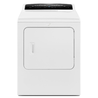 Whirlpool Cabrio� WED7300DW Electric 7.0 cu. ft. White High Efficiency Top Load Steam Dryer - WED7300DW - IN STOCK