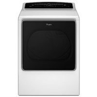 Whirlpool Cabrio� WED8500DW Electric 8.8 cu. ft. White High Efficiency Top Load Steam Dryer - WED8500DW - IN STOCK