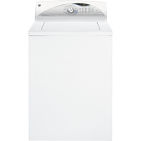 G.E. GTWN5650FWS 3.9 Cu. Ft. White Top Load High Efficiency Washer - GTWN5650FWS - IN STOCK