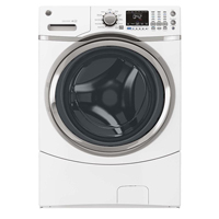 G.E. GFWS1700HWW 4.3 cu. ft. White Front Load Washer - GFWS1700HWW - IN STOCK