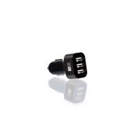 Case Logic 4.1 Amp 3 Port USB Car Charger/Adapter - CLOPV4004BK - IN STOCK