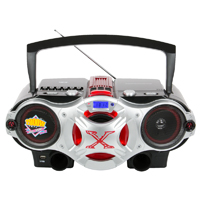 QFX Radio Cassette with CD/USB - J48U - IN STOCK