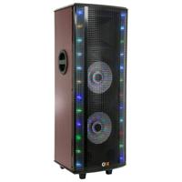 QFX Hi-Fi Tower Speaker with Built-In Amplifier - SBX721000BTL - IN STOCK