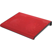 Aluratek Slim USB Laptop Cooling Pad (Red) - ACP01FR - IN STOCK