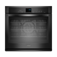 Whirlpool Gold WOS92EC0AB 30 in. Black Convection Single Wall Oven - WOS92EC0AB - IN STOCK