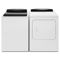 Whirlpool White Front Load Washer/Dryer Pair - WTW7300PR - IN STOCK