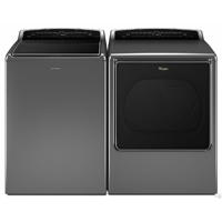 Whirlpool Platinum Front Load Washer/Dryer Pair - WTW8500CPR - IN STOCK