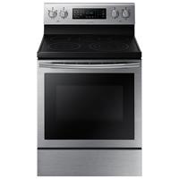 Samsung NE59J7630SS 5.9 Cu.Ft. Stainless 5 Burner Freestanding Range - NE59J7630SS - IN STOCK