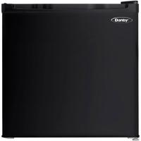 Danby DCR016C1BDB 1.6 Cu. Ft. Black Compact Refrigerator - DCR016C1BDB - IN STOCK