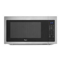 Whirlpool WMC50522AS 2.2 Cu. Ft. Stainless Countertop Microwave - WMC50522AS - IN STOCK
