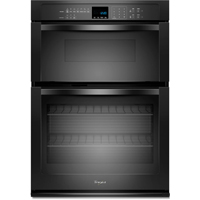 Whirlpool WOC54EC7AB 27 in. Black Wall Oven/Microwave Combination - WOC54EC7AB - IN STOCK