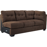Ashley Signature Design 4520183 Maier Walnut Contemporary RAF Full Sleeper Sofa - 4520183 / 4520183 - IN STOCK