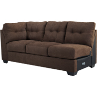 Ashley Signature Design 4520110 Maier Walnut Contemporary LAF Full Sleeper Sofa - 4520110 / 4520110 - IN STOCK
