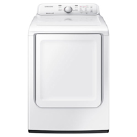Samsung DV40J3000EW Electric 7.2 Cu. Ft. White Top Load Dryer - DV40J3000EW - IN STOCK