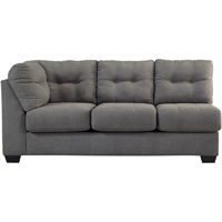 Ashley Signature Design Maier Charcoal Contemporary LAF Sofa - 4520066 - IN STOCK