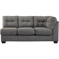 Ashley Signature Design 4520067 Maier Charcoal Contemporary RAF Sofa - 4520067 / 4520067 - IN STOCK