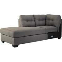 Ashley Signature Design Maier Charcoal Contemporary LAF Corner Chaise - 4520016 - IN STOCK