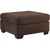 Ashley Signature Design 4520108 Maier Walnut Contemporary Oversized Accent Ottoman - 4520108 / 4520108 - IN STOCK