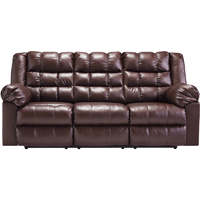Ashley Signature Design Brolayne Saddle Contemporary DuraBlend Reclining Sofa - 8320288 - IN STOCK