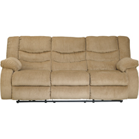 Ashley Signature Design 9200288 Garek Sand Contemporary Double Reclining Sofa - 9200288 / 9200288 - IN STOCK