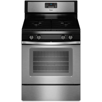 Whirlpool WFG515S0ES 5.0 Cu. Ft. Stainless Freestanding Gas Range - WFG515S0ES - IN STOCK