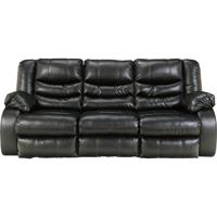 Ashley Signature Design 9520288 Linebacker Black Durablend Reclining Sofa - 9520288 / 9520288 - IN STOCK