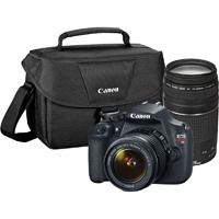 Canon EOS Rebel T5 Digital SLR Camera with EF-S 18-55mm IS II + EF 75-300mm f/4-5.6 III Bundle - EOSREBELT5BUNDLE / 9126B0669 / T5BUNDLE - IN STOCK