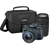 Canon EOS Rebel SL1 Digital SLR with 18-55mm STM + 75-300mm f/4-5.6 III Lens Bundle - 8575B055 / EOSREBELSL1BUNDLE / SL1BUNDLE - IN STOCK