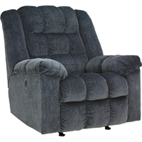 Ashley Signature Design 8110598 Ludden Blue Power Rocker Recliner - 8110598 / 8110598 - IN STOCK