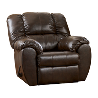Ashley Signature Design Dylan Espresso DuraBlend Comtemporary Rocker Recliner - 7060325 - IN STOCK