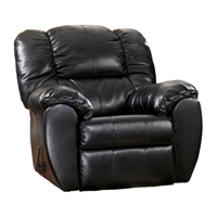 Ashley Signature Design 7060425 Dylan Black DuraBlend Comtemporary Rocker Recliner - 7060425 - IN STOCK