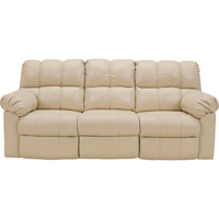 Ashley Signature Design 2900287 Kennard Cream Contemporary Power Reclining Sofa - 2900287 / 2900287 - IN STOCK