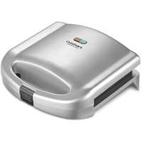 Cuisinart Dual-Sandwich Nonstick Electric Grill - WM-SW2 / WMSW2 - IN STOCK